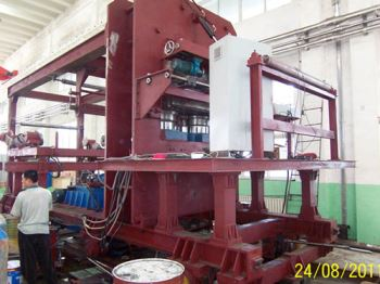 Rubber machinery forming